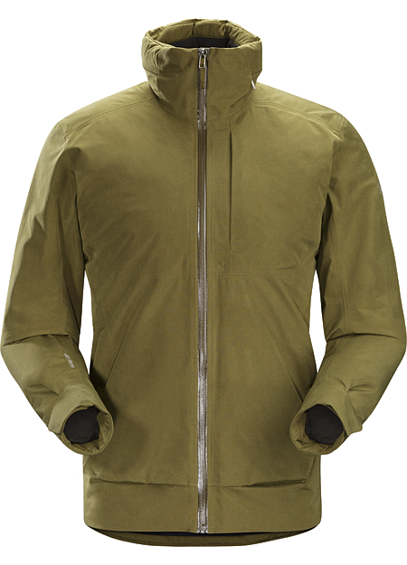 Ames Jacket Men's Refined Coreloft™ insulated GORE-TEX® jacket for cool, wet urban environments.