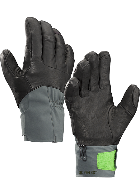 Anertia Glove Men's Versatile men's skiing and snowboarding gloves combine enhanced fit and grip with waterproof breathable GORE-TEX® with XCR® product technology and warm Primaloft® insulation.