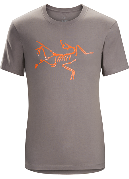 Archaeopteryx T-Shirt Men's Organic cotton T-shirt with an Arc'teryx bird graphic.