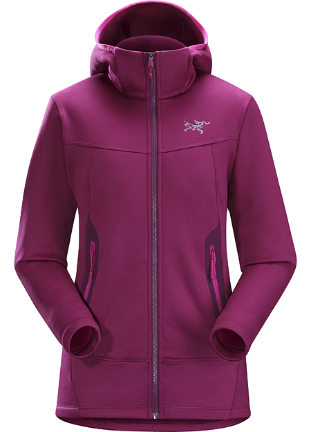 Arenite Hoody Women's Versatile Cobblecomb™ fleece hoody for women delivers exceptional warmth and durable performance across a range of uses.