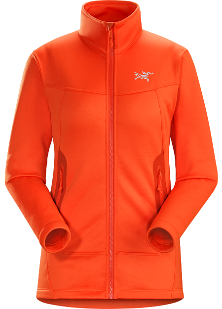 Arenite Jacket Women's Women's technical midlayer made from warm, durable, comfortable Cobblecomb™ fleece.