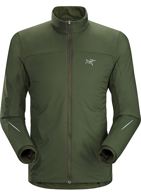 Argus Jacket Men's Highly breathable, wind and weather resistant Polartec® Alpha® insulated jacket for high output activities in cold conditions.