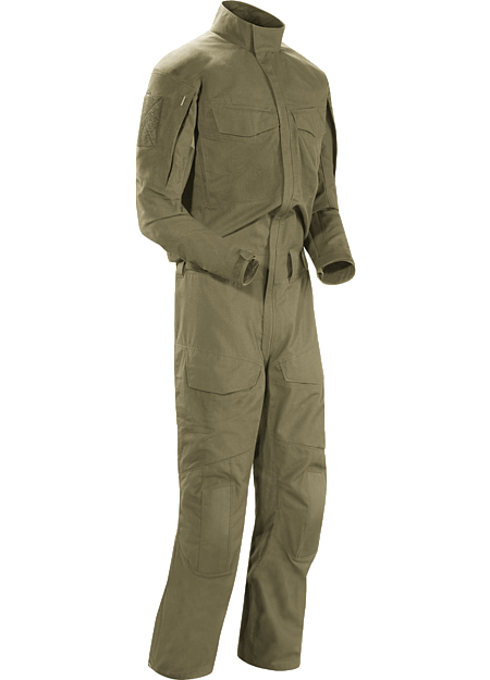 Assault Coverall AR Men's No melt/no drip technical coverall purpose built to be worn while conducting direct action tasks.