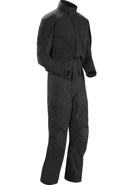 Assault Coverall FR Men's Flame resistant technical coverall purpose built to be worn while conducting direct action tasks.