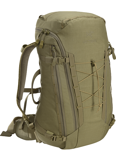 Assault Pack 30 Fully padded, single compartment bag.