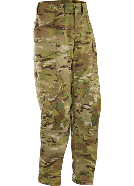 Assault Pant AR MultiCam Men's Full featured no melt / no drip technical pant suitable for a variety of combat applications.