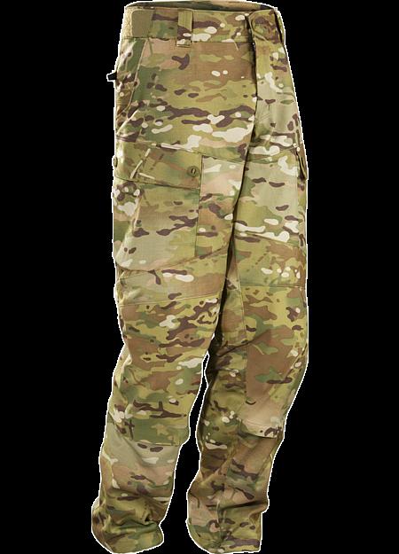 Assault Pant LT MultiCam Men's A lightweight no melt/no drip materials based combat pant.