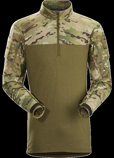 Assault Shirt LT MultiCam Men's A lightweight no melt/no drip materials based under body armour combat shirt.
