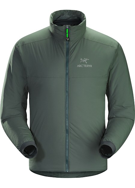 Atom AR Jacket Men's Warm insulated Coreloft™ jacket; Ideal for use as a super-warm mid-layer in cold conditions, or as a stand-alone piece in warmer conditions. Atom Series: Synthetic insulated mid layers | AR: All-Round.