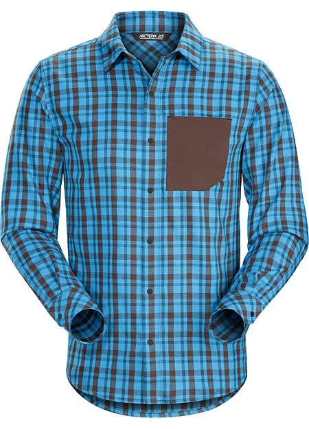 Bernal Shirt LS Men's Casual, contemporary flannel shirt for mountain town living.