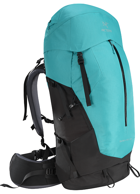 Bora AR 49 Backpack Women's Women's backpack with zonal weather protection and RotoGlide™ hipbelt.