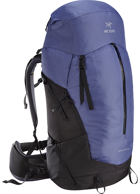 Bora AR 61 Backpack Women's Women's backpack with zonal weather protection and RotoGlide™ hipbelt.