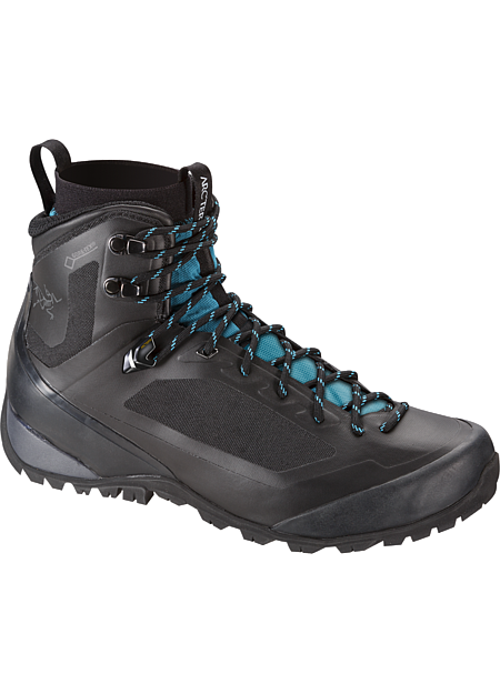 Bora Mid GTX Hiking Boot Women's Durable, light, supportive multiday hiking footwear with GORE-TEX® waterproof/breathable protection, Arc'teryx Adaptive Fit comfort, and a seamless thermolaminated upper.