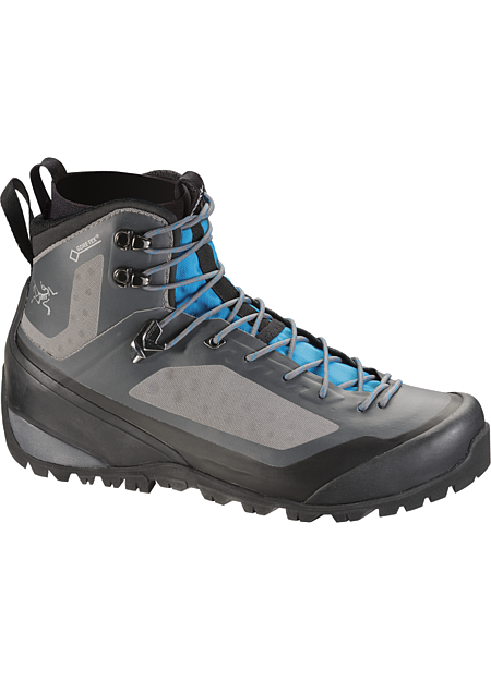 Bora2 Mid GTX Hiking Boot Women's Women's technical hiking boot with interchangeable Arc'teryx Adaptive Fit liners, a seamless thermolaminated upper and the versatility for extended trips across varied terrain in shifting conditions. Includes 1 pair of GORE-TEX® MID-LINERS.