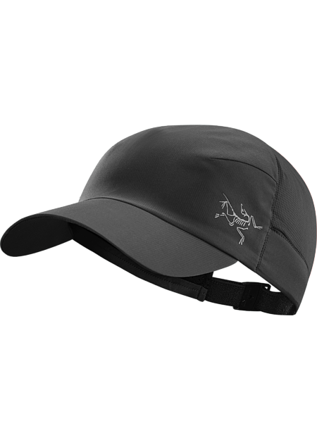 Calvus Cap Lightweight cap with DWR (durable water repellent) treatment provides sun protection and moisture management during fast paced mountain training in warm conditions.