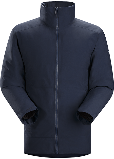 Camosun Parka Men's Refined urban style in a warm, wind and weatherproof down insulated GORE-TEX® parka.