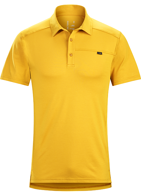 Captive Polo Shirt SS Men's Lightweight, moisture wicking DryTech™ polo shirt for active travel and uptempo urban pursuits.