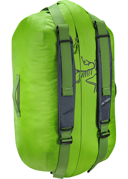 Carrier Duffle 55 Light, durable, highly water-resistant 55L gear duffle for multiday trips.