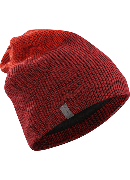 Castlegar Toque Longer length, wool blend toque with warm fleece earband and bicolour design.