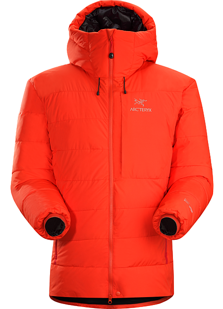 Ceres SV Parka Men's Exceptionally warm down parka with a GORE® WINDSTOPPER® shell.