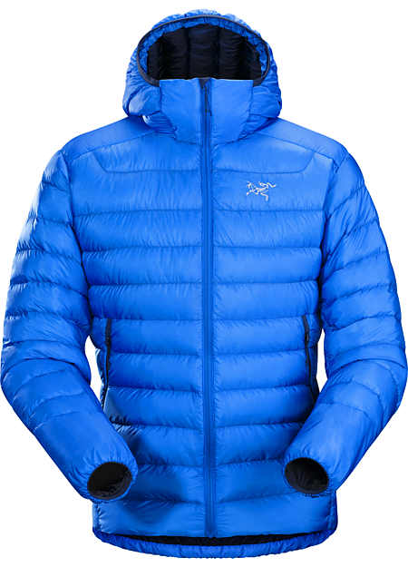 Cerium LT Hoody Men's Streamlined, lightweight down hoody filled with 850 white goose down. This backcountry specialist hoody is intended primarily as a mid layer in cool, dry conditions. Down Series: Down insulated garments | LT: Lightweight.