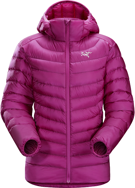 Cerium LT Hoody Women's Streamlined, lightweight down hoody filled with 850 white goose down. This backcountry specialist hoody is intended primarily as a mid layer in cool, dry conditions. Down Series: Down insulated garments | LT: Lightweight.