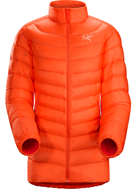 Cerium LT Jacket Women's Streamlined, lightweight, jacket filled with 850 white goose down. This backcountry specialist is intended as a mid layer or standalone piece in cool, dry conditions. Down Series: Down insulated garments | LT: Lightweight.
