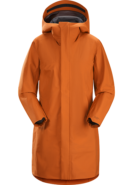 Codetta Coat Women's Waterproof, windproof, breathable GORE-TEX® protection with city style.
