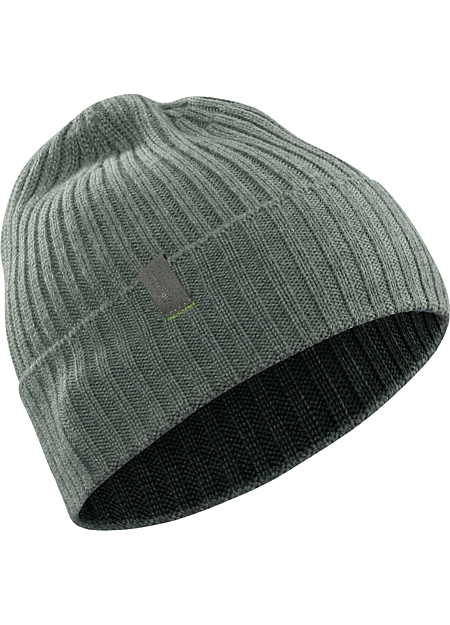 Delphic Beanie Ribbed, wool/acrylic beanie with traditional style and a subtle Arc'teryx logo.