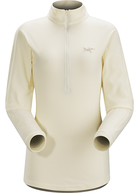 Delta LT Zip Neck Women's Women's lightweight half zip micro fleece pullover that performs as a cold weather base layer and shoulder season midlayer. Delta Series: Mid layer fleece | LT: Lightweight.