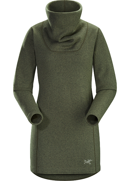 Desira Tunic Women's Soft, warm sweater knit fleece with a longer length and contemporary style.