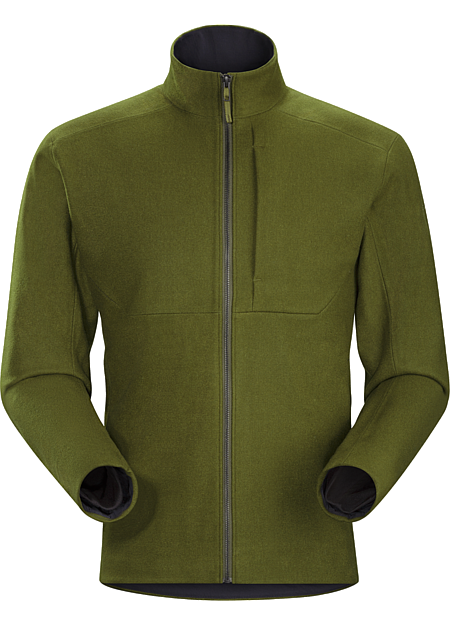 Diplomat Jacket Men's Wind resistant wool jacket where traditional materials meet refined style combined with a comfortable fleece liner.