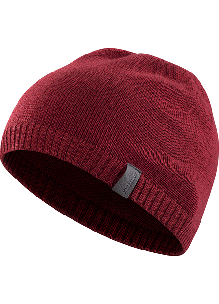 Diplomat Toque Merino wool blend toque with clean, minimal, refined style.