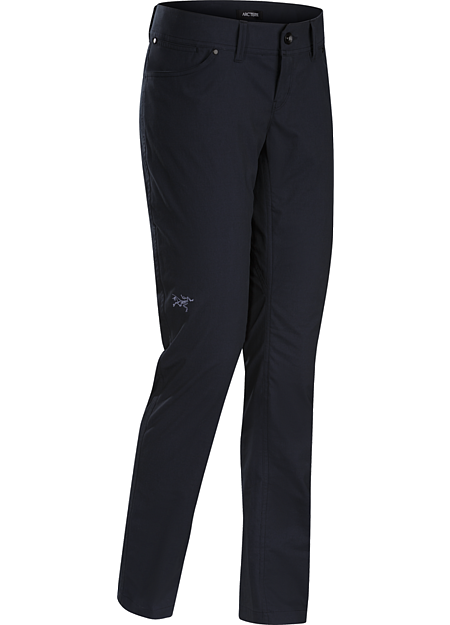 Dori Pant Women's Casual pant with a trim fit and classic five-pocket style.