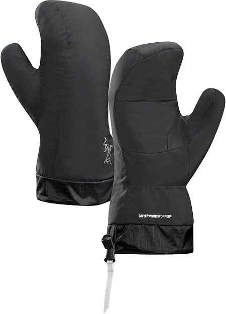 Down Mitten Highly compressible, lightweight, very warm, windproof down mitten for use as a liner or lightweight camp or emergency handwear.