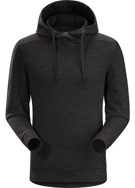 Elgin Hoody Men's Classic hoody style with a Merino blend fabric and refined urban aesthetic.