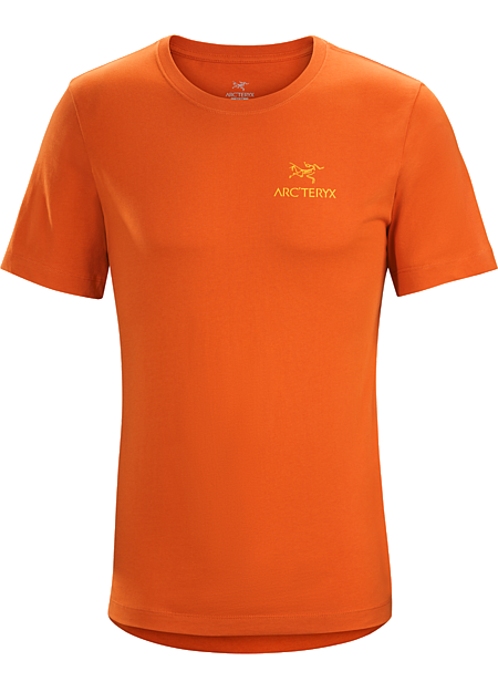 Emblem T-Shirt Men's Organic cotton T-shirt with the Arc'teryx logo.