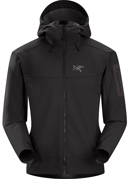 Epsilon LT Hoody Men's Moderate warmth mid layer hoody with good air permeability and the durable woven face of a softshell. Epsilon Series: Abrasion resistant mid layer fleece | LT: Lightweight.