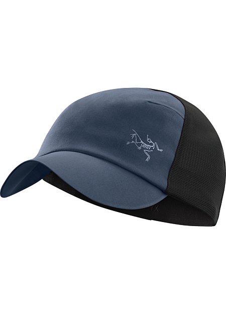 Escapa Cap A technical trucker hat made from breathable  nylon fabric and featuring a stretch mesh back.