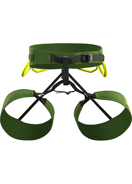 FL-365 Harness Men's FL: Fast and Light. Compact, comfortable, streamlined men's fixed leg harness versatile enough for sport, trad, alpine, mixed and ice climbing.