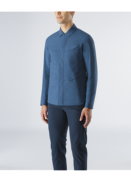 Field Overshirt Men's Water resistant and highly air permeable overshirt.