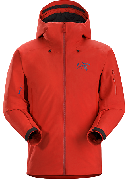 Fissile Jacket Men's Warm, durable waterproof breathable down insulated GORE-TEX® jacket for big mountain skiing and boarding.