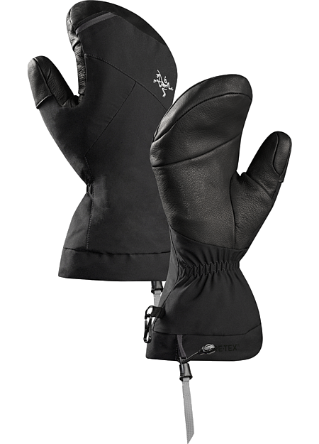 Fission Mitten Versatile, durable Primaloft® insulated GORE-TEX® winter mitten with leather reinforcements on the palm and fingers.