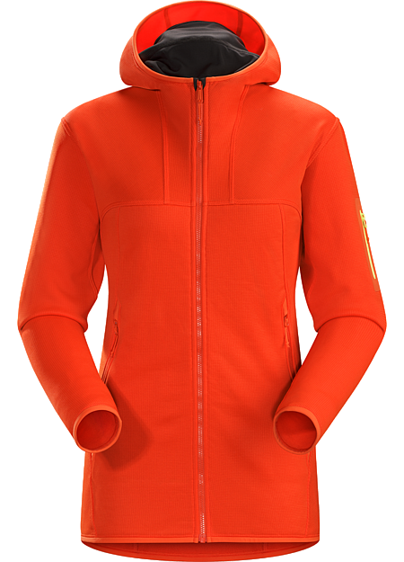 Fortrez Hoody Women's Durable midweight fleece hoody performs as a layering piece or standalone.