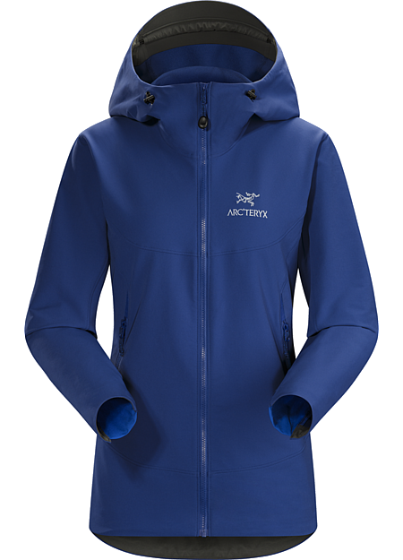 Gamma LT Hoody Women's Light, durable, versatile women's softshell hoody offering wind and weather protection, air permeable comfort and freedom of movement. Gamma Series: Softshell outerwear with stretch | LT: Lightweight.