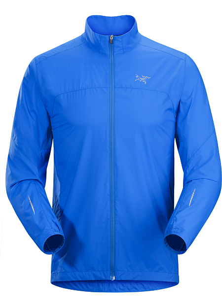 Incendo Jacket Men's Streamlined, ultralight jacket provides wind and weather protection during high-output mountain training and trail runs.
