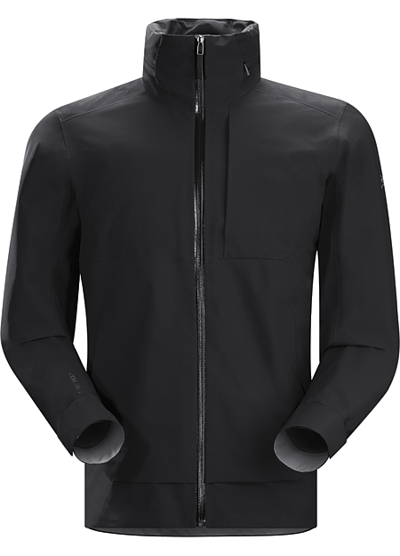 Interstate Jacket Men's Light, comfortable GORE-TEX® shell delivers waterproof, windproof, breathable weather protection with urban style.