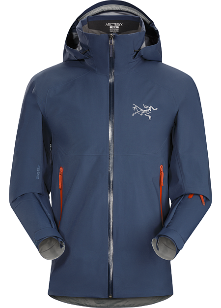 Iser Jacket Men's On-area ski shell made from 3L GORE-TEX® with GORE® C-KNIT™ backer technology.
