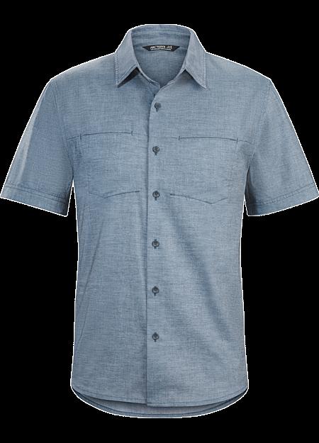 Joffre shirt ss arc 39 teryx for Moisture wicking button down shirts