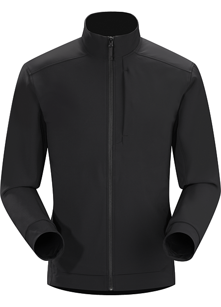 Karda Jacket Men's Softshell technology blended with clean, urban styling in the ideal everyday wear fall/winter jacket for those who love softshell jackets but want a refined look